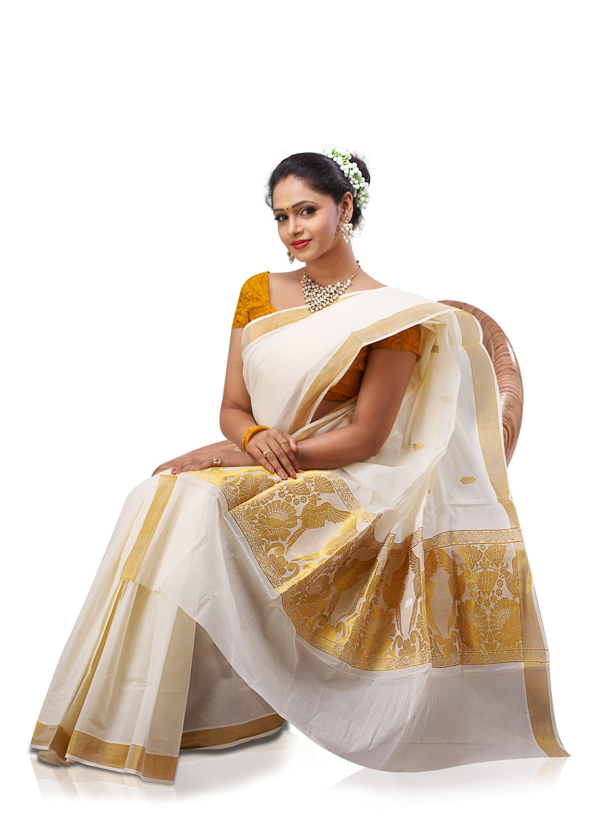 Absolutely Kerala girls saree think, that